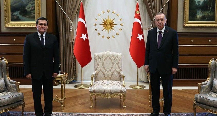 Cumhurbaşkanı Erdoğan Türkmenistan Dışişleri Bakanı'nı kabul etti