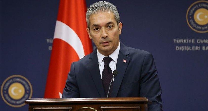 Türkiye'den, ABD Dışişleri Bakanı Pompeo'nun Türkiye ziyaretine ilişkin yapılan açıklamaya tepki