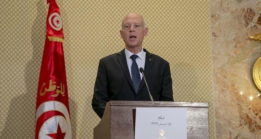 Tunus Cumhurbaşkanı Said: Savaşa aynı yüksek maneviyatla devam edeceğimizin sözünü veriyoruz
