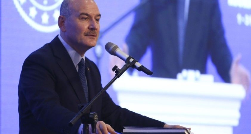 Bakan Soylu, Libyalı mevkidaşı Mazin'i ağırladı