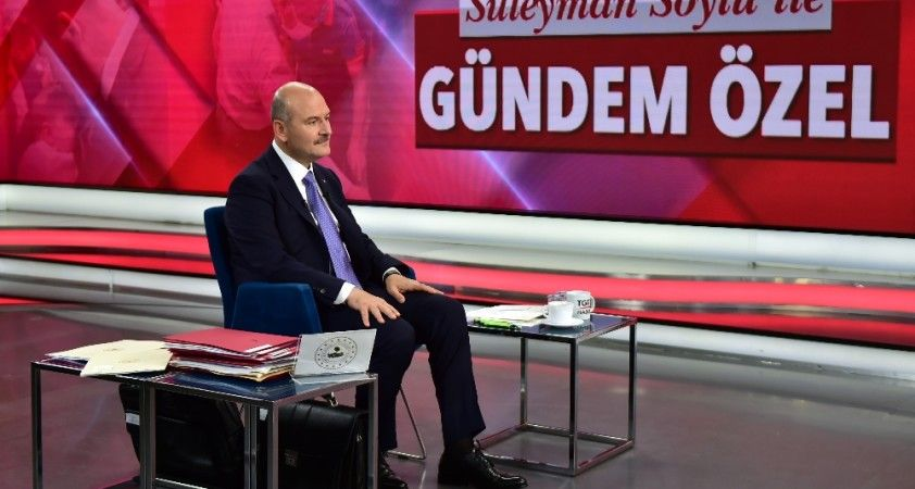 """İçişleri Bakanı Soylu: """"Asıl FETÖ'cüler yurtdışında"""""""