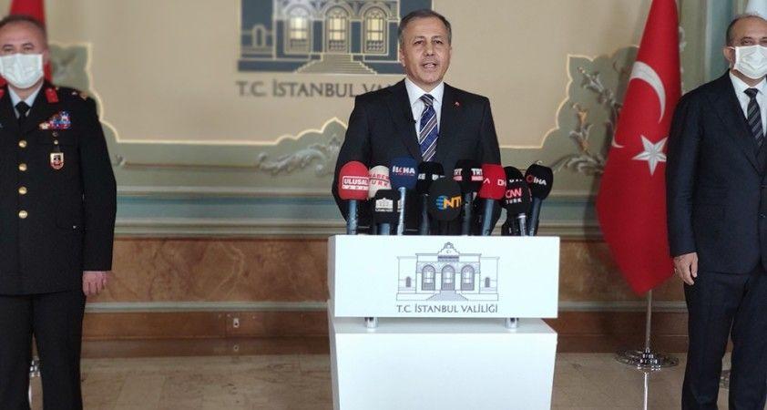 Vali Yerlikaya duyurdu : İstanbul'da cadde ve meydanlar sınırlandırıldı