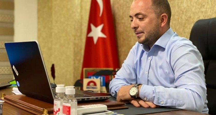 Sağlık Bakanı Yardımcısı Eldemir ile video konferansla görüştüler