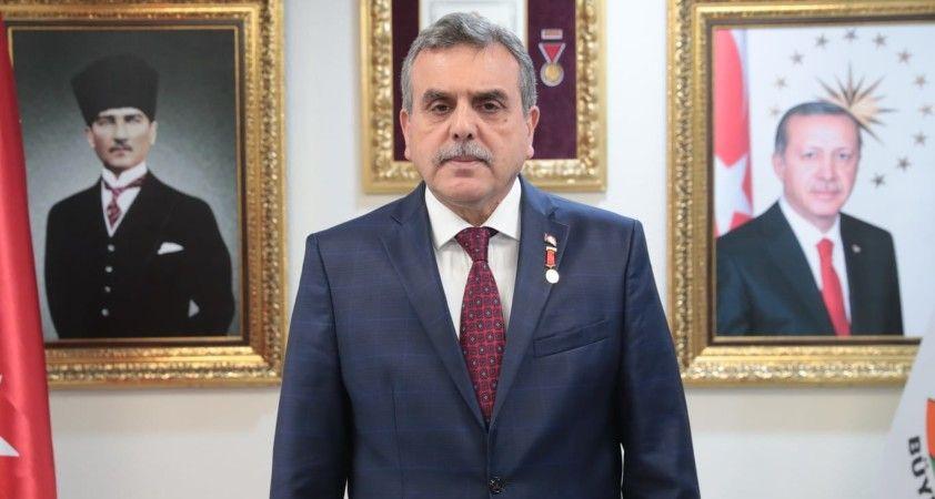 Şanlıurfa Büyükşehir Belediye Başkanı Beyazgül: 'Kadir gecemiz mübarek olsun'