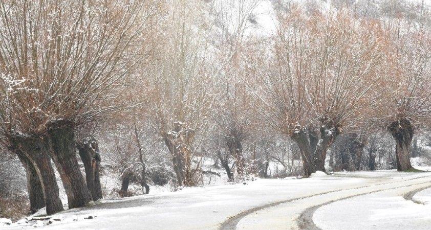 Ankara'da kar kartpostallık görüntüler oluşturdu