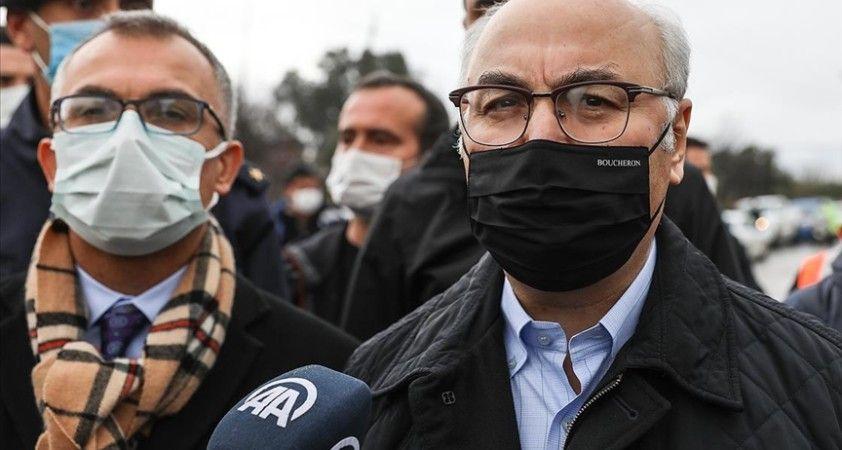 İzmir Valisi Köşger: Yarın sabaha kadar yağışlar ara ara devam edecek