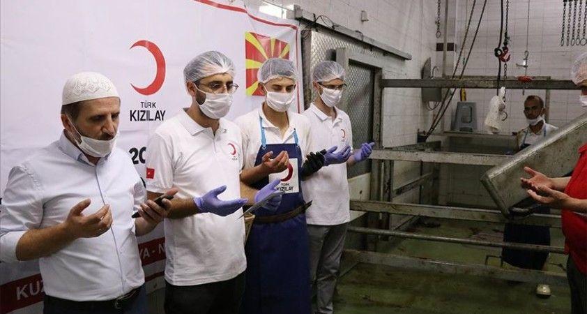 Türk Kızılay, Kuzey Makedonya'da 3 bine yakın aileye kurban eti dağıtacak