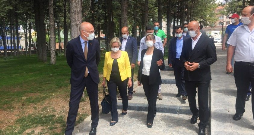 İsveç Büyükelçisi Herrström Kulu'da