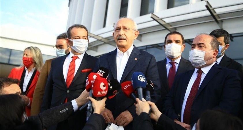 CHP Genel Başkanı Kemal Kılıçdaroğlu: Enis Bey geldi mutluyum sevinçliyim