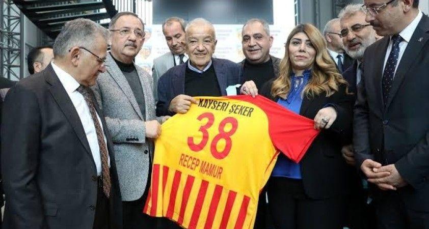 Kayserispor eski başkanlarından Recep Mamur hayatını kaybetti