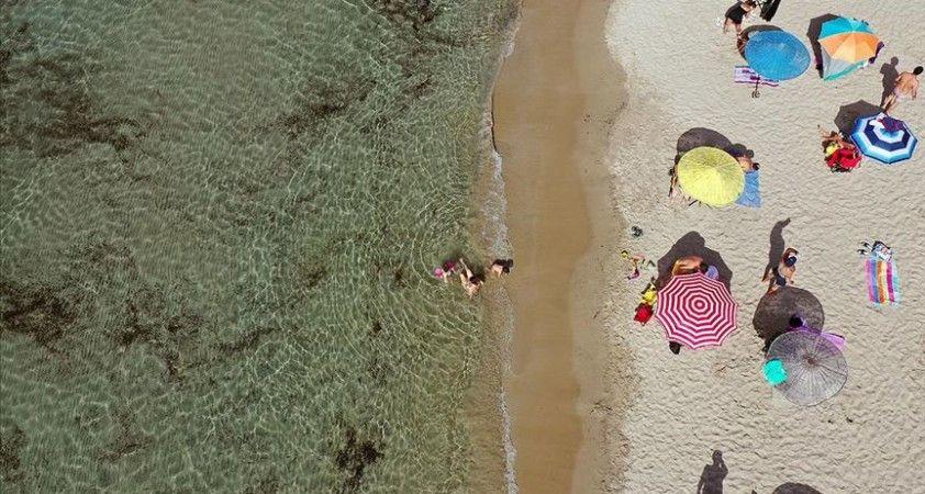 Ekim sıcakları turizmci ve tatilcilere yaradı