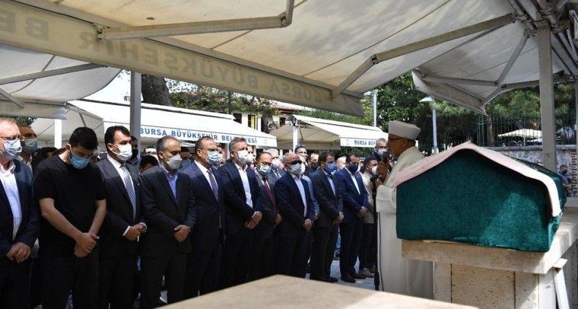Bursa Büyükşehir Belediye Başkanı Alinur Aktaş'ın acı günü