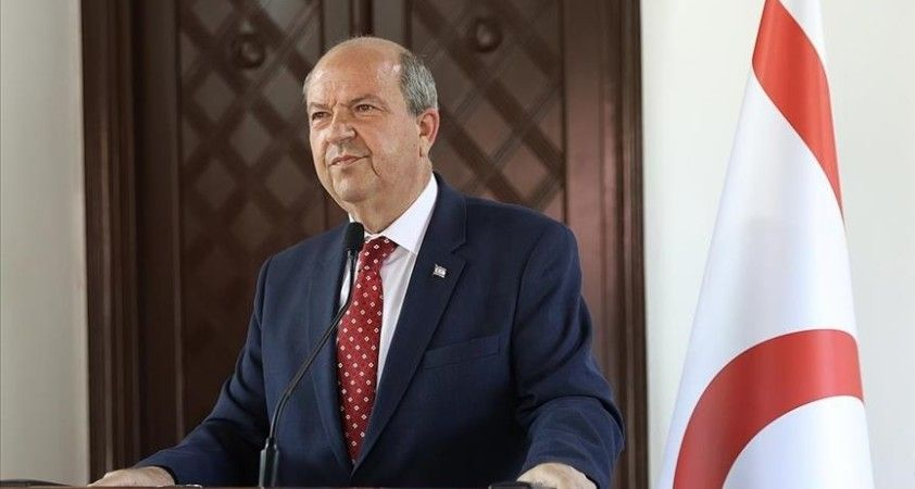 KKTC Cumhurbaşkanı Tatar'dan kendisini 'ırkçılıkla' suçlayan Rum lider Anastasiadis'e tepki