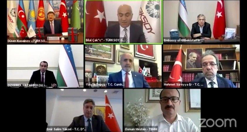 Cumhurbaşkanı Başdanışmanı Topçu, TÜRKSOY - Özbekistan tanıtım toplantısına katıldı