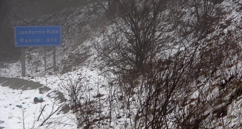 Kırklareli'nde Nisan ayında kar sürprizi