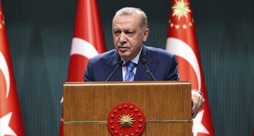 Cumhurbaşkanı Erdoğan: Milletin ciğerini yakan musibetten siyasi rant devşirmeye çalışmanın izahı olamaz