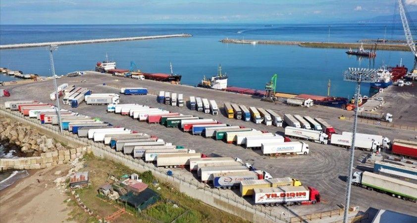 Karasu Limanı'nda hedef yıllık 40 bin araç ve 1,1 milyon ton yük