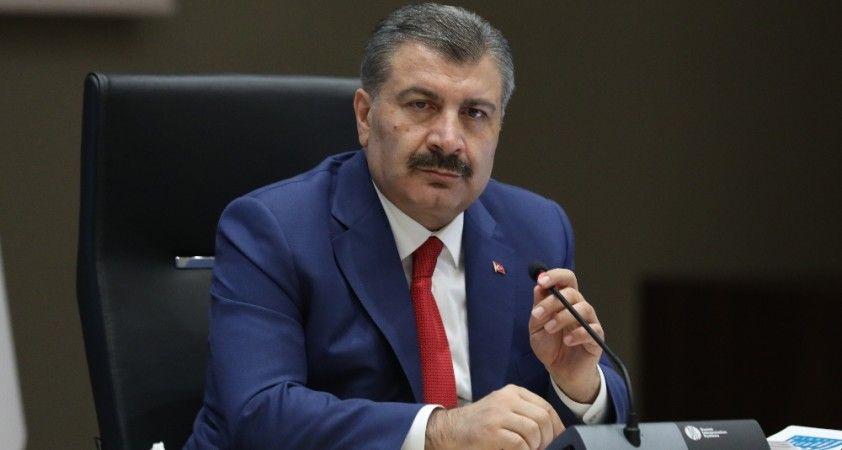 """Sağlık Bakanı Koca: """"Şu an Türkiye'de en fazla vaka sayısının olduğu il Ankara"""""""