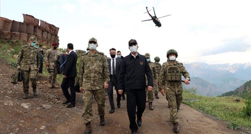 """""""Pençe-Şimşek ve Pençe-Yıldırım operasyonlarında şu ana kadar 44 terörist etkisiz hâle getirildi"""""""