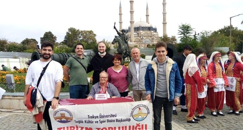 Edirne'de 88 tarihi ve kültürel eser dijital haritaya aktarıldı