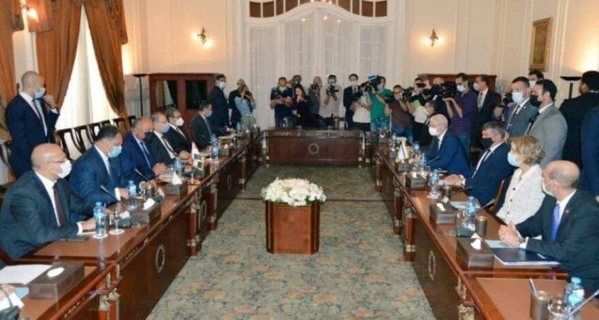 İsrail Dışişleri Bakanı, 13 yıl sonra Mısır'ı ziyaret etti