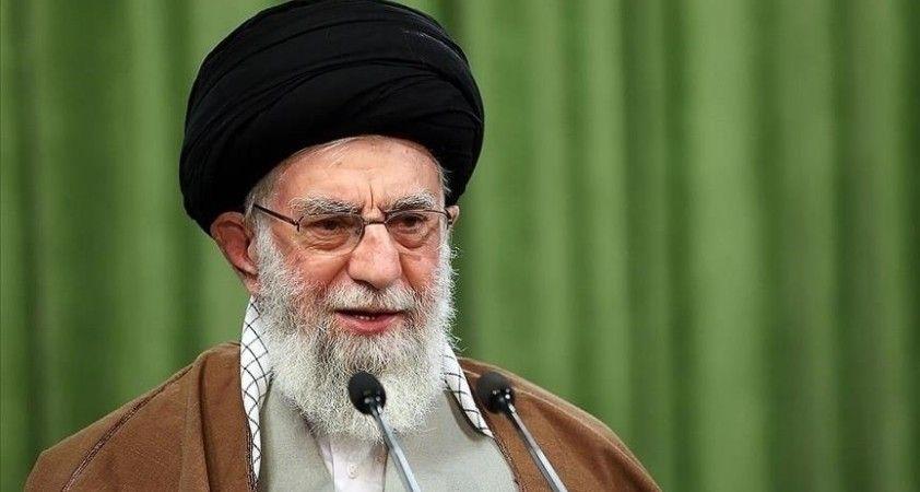 İran lideri Hamaney: Afganistan'daki krizlerin kaynağı ABD'dir