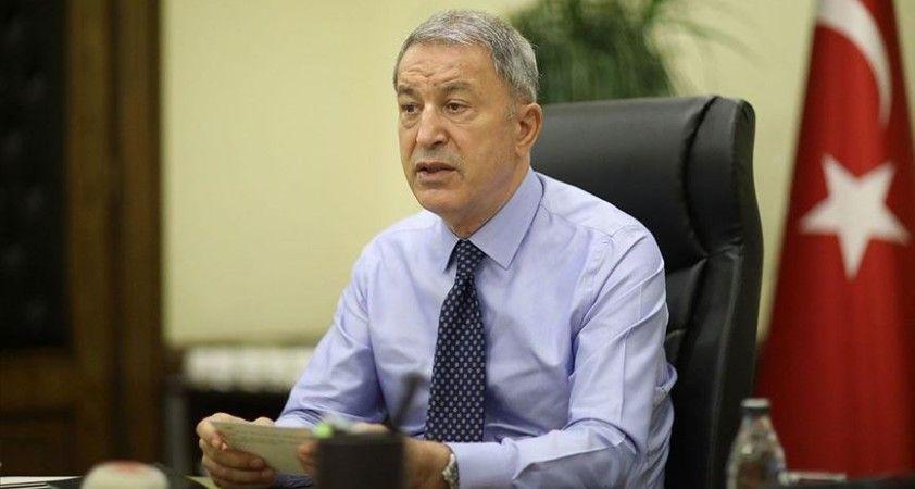 Bakan Akar: Fransa, Doğu Akdeniz yetmiyor, Irak'ta da birtakım beyanlarda bulunuyor