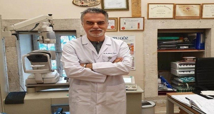 'Koronavirüse karşı gözlük takın''
