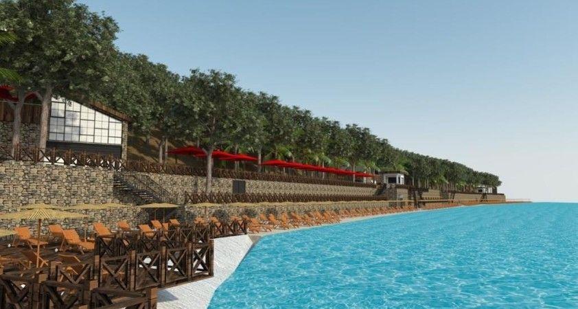 Marmaris'in beş yıldızlı plajı 11 Haziran' da açılacak
