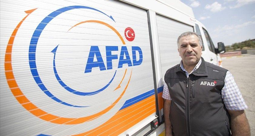 AFAD görevlisi depremde kaybettiği yeğenlerini her görevde hüzünle hatırlıyor
