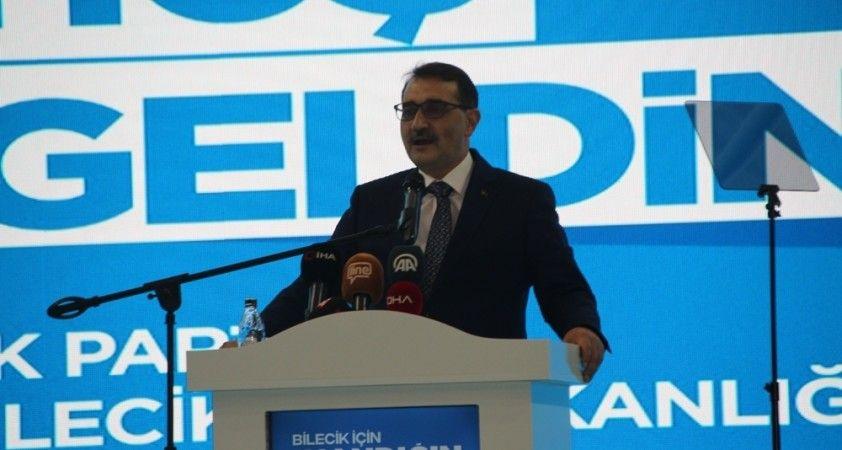 """"""" Türkiye, bugün itibariyle TANAP aracılığıyla 9.4 milyar metreküp doğal gaz almıştır"""""""