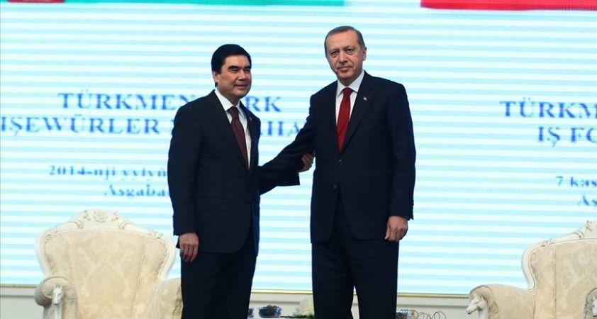 Cumhurbaşkanı Erdoğan'dan Türkmenistan Devlet Başkanı Berdimuhammedov'a taziye telefonu