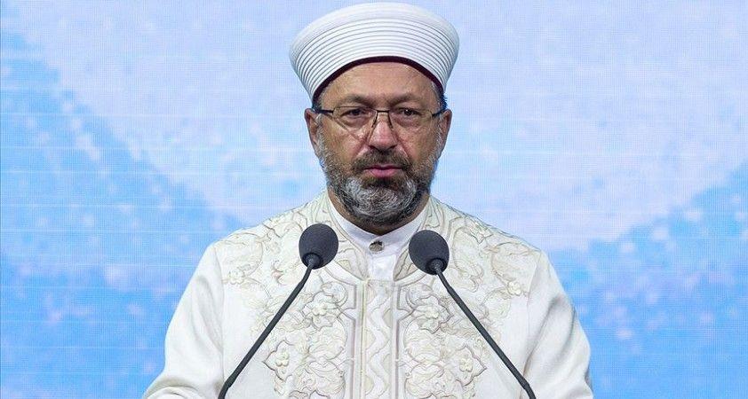 Diyanet İşleri Başkanı Erbaş: Salgınla mücadelede camilerimizle toplumumuza örnek olmaya ve rehberlik yapmaya çalıştık