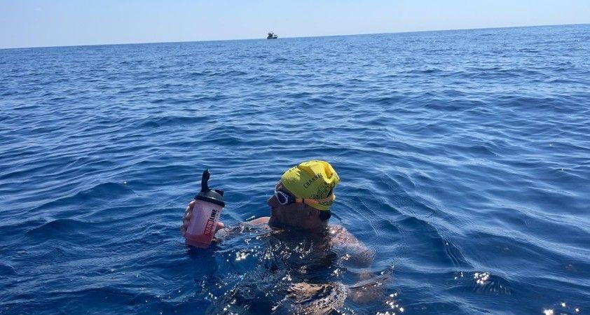 Milli yüzücü Emre Seven'den yeni rekor denemesi