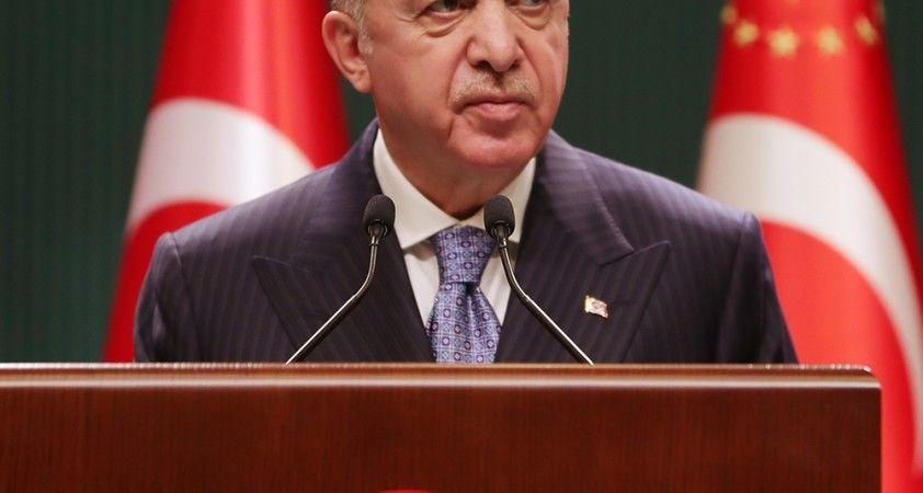 """Cumhurbaşkanı Erdoğan: """"Yeminli millet düşmanlarının malzemelerini ülke gündemine taşıyorlar"""""""