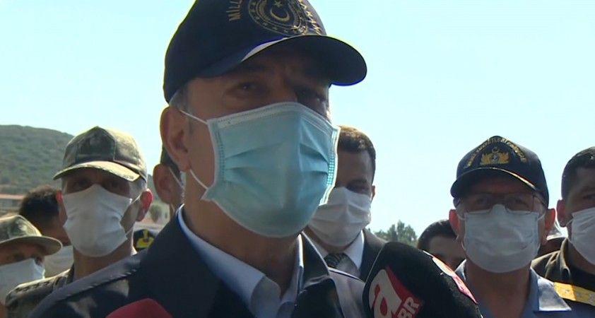 """Milli Savunma Bakanı Akar: """"İyi komşuluk ve diyalogdan yanayız"""""""