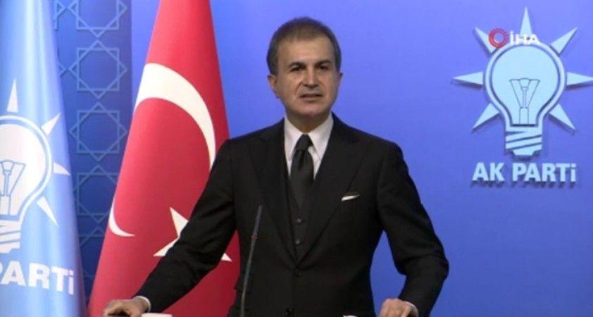 """AK Parti Sözcüsü Çelik: """"Muhtıra siyaseti mutasyona uğramıştır"""""""