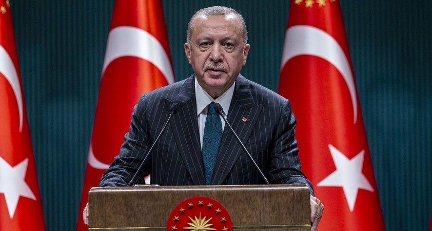 Cumhurbaşkanı Erdoğan: Milletimiz bu cennet vatanı bir bütün olarak koruyacak ve asla böldürtmeyecektir