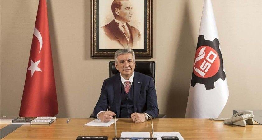 İSO Başkanı Bahçıvan: Sanayimizin Kovid-19 salgınından bu yana yazdığı başarı hikayesi sürüyor