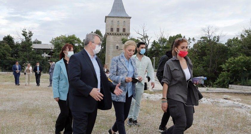 Rotahane ekibi Sağlık ve İmaret Müzeleri ile Edirne Sarayı'nı ziyaret etti