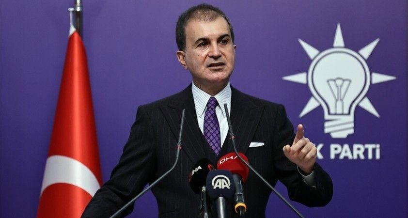 AK Parti Sözcüsü Çelik: PKK aynı DEAŞ gibi bir cinayet, katliam şebekesi
