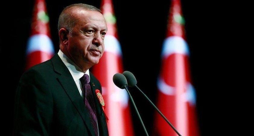 Cumhurbaşkanı Erdoğan: Yapı inşaasında gelenekle geleceği harmanlayan yeni bir devri başlatıyoruz