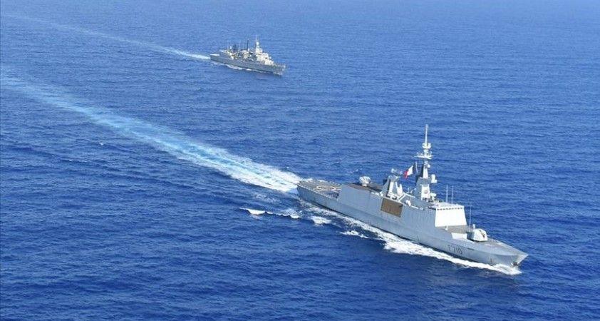 Fransa'nın Doğu Akdeniz'deki tutumu uluslararası mahkemede kabul gören kendi tezleriyle çelişiyor
