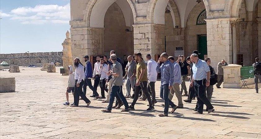 Filistin Dışişleri Bakanlığı: Yahudilerin Mescid-i Aksa baskını ateşkesi güçlendirme çabalarını hafife almaktır