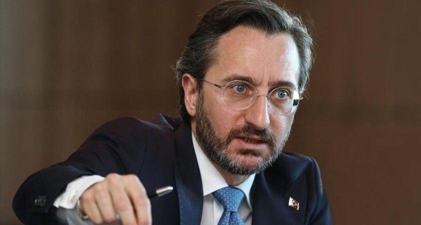 İletişim Başkanı Altun: Türkiye, terör örgütlerinin belini kırma gayretinden bir an bile geri durmayacaktır