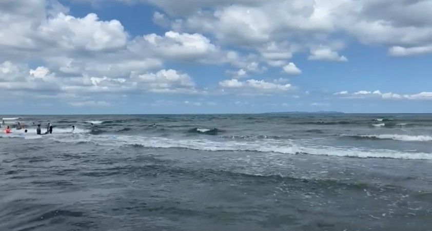 Şile'nin ardından Marmara'nın bu sahillerinde de denize girmek yasaklandı