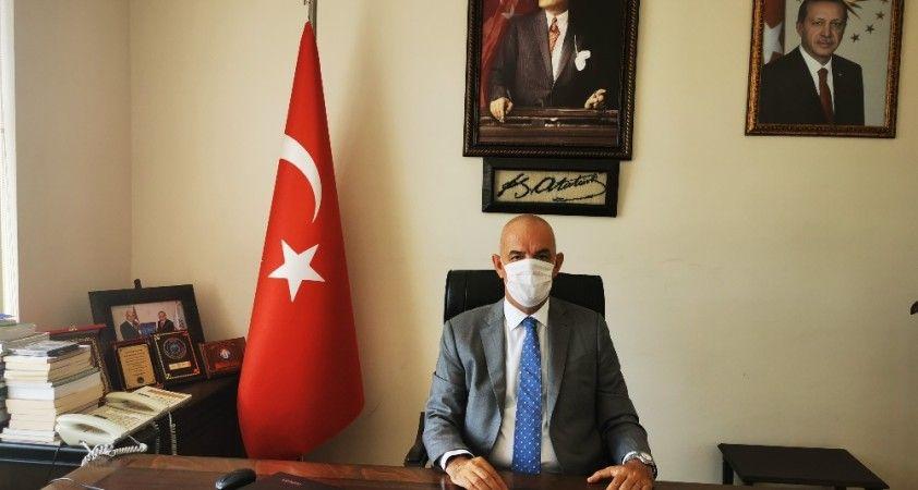 Marmaris'te yabancı turistler için maske uyarısı yapıldı