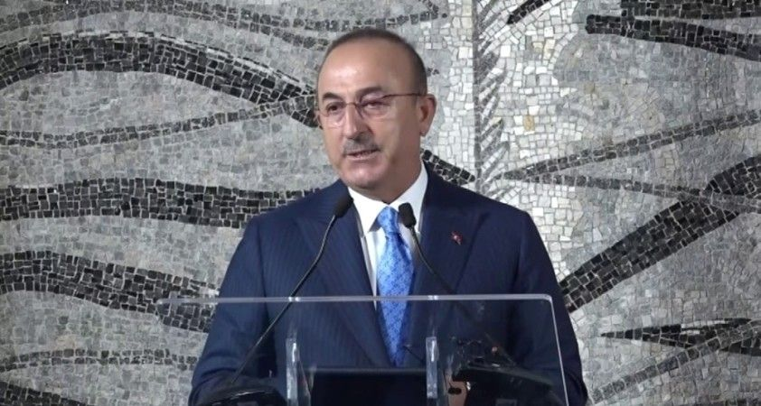 Dışişleri Bakanı Mevlüt Çavuşoğlu, İspanya Dışişleri, AB ve İşbirliği Bakanı Arancha Gonzalez Laya ile görüştü