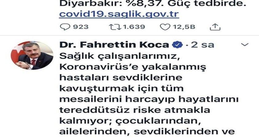 Bakan Koca Kayseri'deki tehlikeyi açıkladı