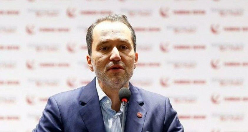 Yeniden Refah Partisi lideri Erbakan: HDP'nin kapatılması en çok PKK'nın işine yarar